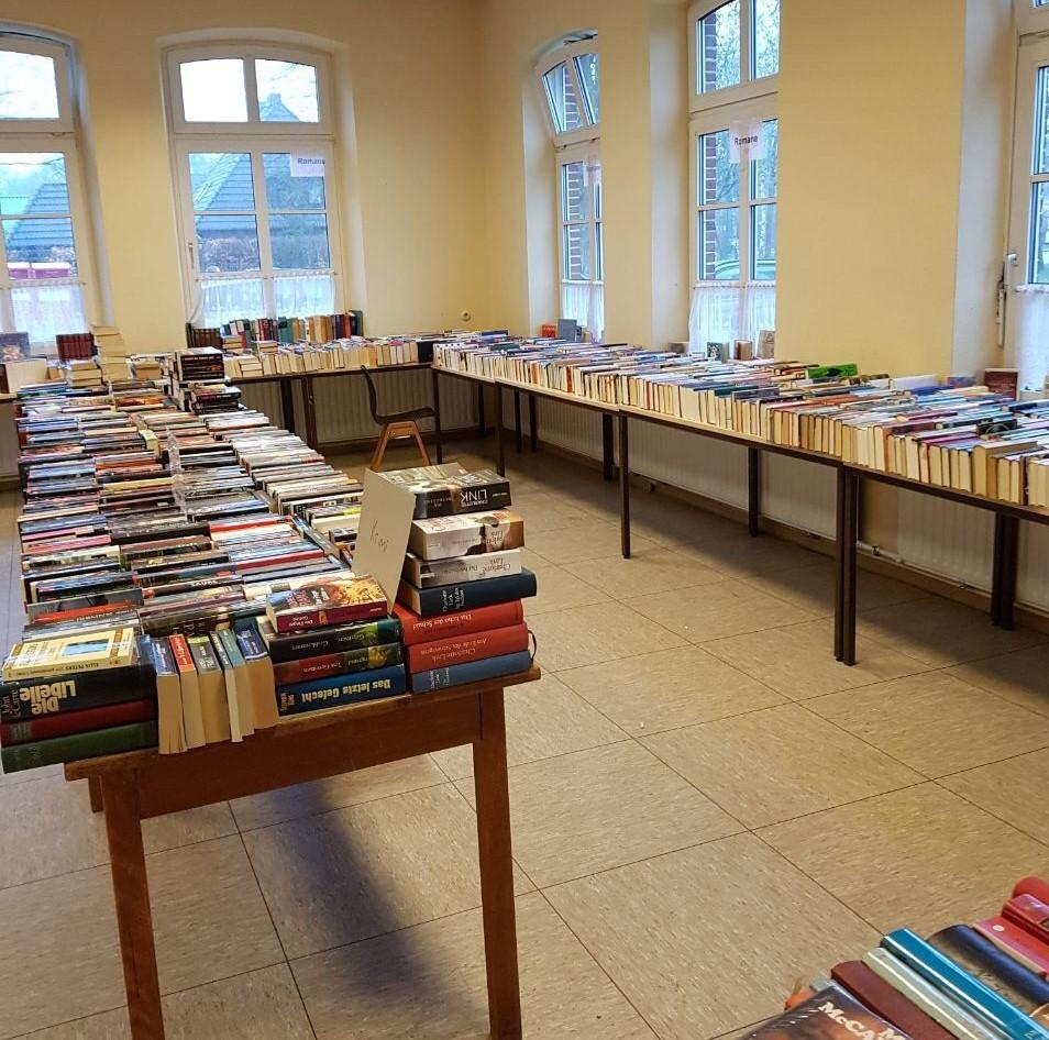 Bücherflohmarkt 2019