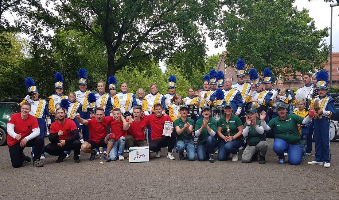 Deutsche Meisterschaften im horizontalen Bierkistenstapeln